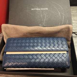 BV Bottega Veneta Flap Wallet