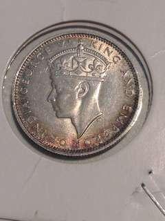 Old Coin Malaya 1939 AUNC