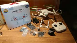 大疆 Dji Phantom2 RC Drone 大型航拍機 + Zenmuse H3-3D Gimbal 雲台 (送GoPro Hero3 cam)