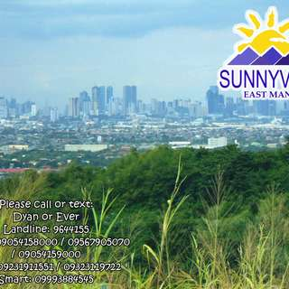 Sunnyville East Residential Lot for Sale in Angono