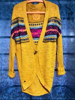 Aztech Knitted Cardigan