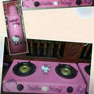 Hello Kitty Gas Stove With Thermos