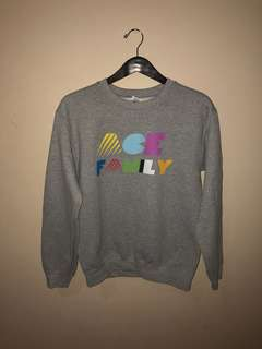 *REDUCED* ACE Family Grey Crewneck
