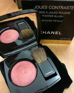 CHANEL Joues Contraste Powder Blush (99 Rosé Petale)