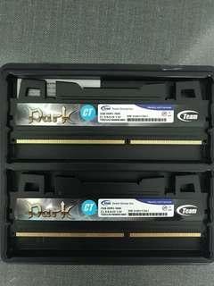 Team Dark DDR 3 2x2gb 1600mhz