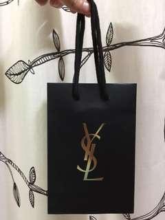 🚚 YSL(化妝品)小紙袋