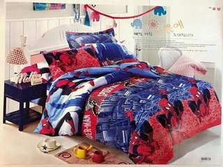 Spiderman 4 in 1 Bedsheet