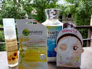 Bundle! Iwhite,garnier,human nature, bath & body works