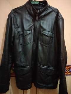 Jaket kulit asli ,..dijamin
