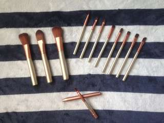 REPRICE Complete Make Up Brush Set