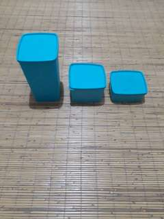 3 pcs Tupperware tosca
