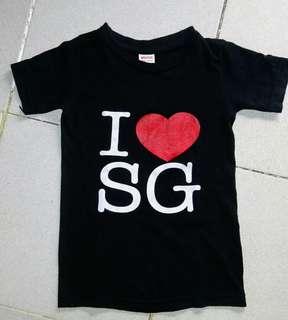 I ❤ SG shirt