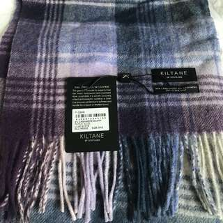 Scarf wool and cashmere