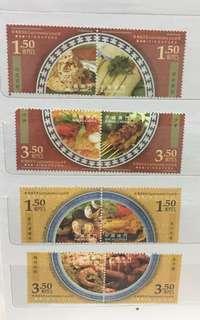 地道美食 郵票