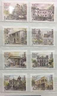 世界遺產 郵票