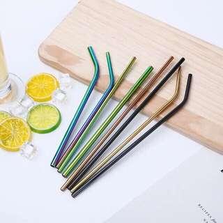 🍹Metal/Steel Straw Set