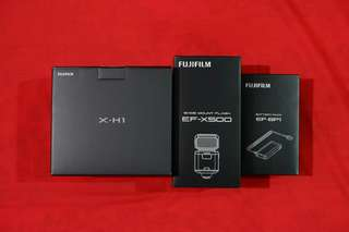 READY STOCK Fujifilm X-H1 Body