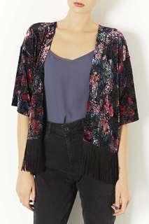 TopShop Kimono Fringe