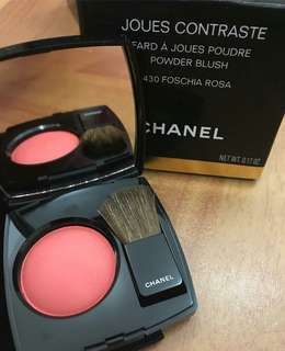 CHANEL Joues Contraste Powder Blush (430 Foschia Rosa)
