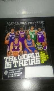 SLAM Basketball Magazine (Nov/December 2017'