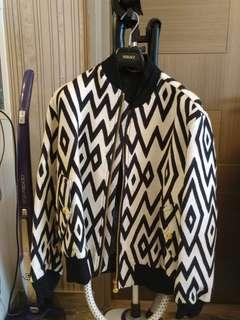 Versace 男裝pattern 外套