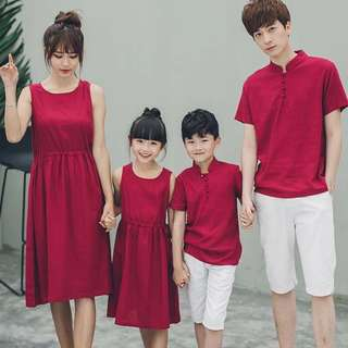 Family clothes 🐾red clothes