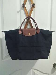 Pre-loved Longchamp Classic Le Pliage in Black MSH