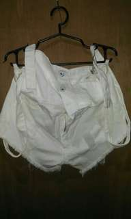Jumper White Short