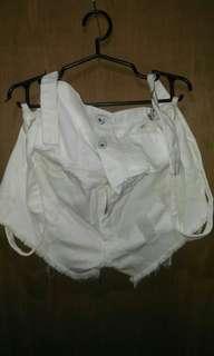 Jumper White Short
