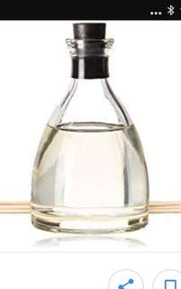 Body Shop Glass Aromatherapy Oil Diffuser Bottle