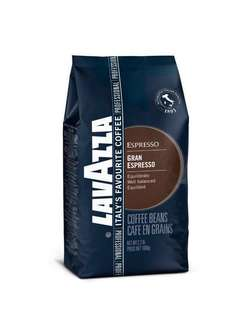 Lavazza Grand Espresso RM85per pack - Whole Bean Coffee, 1000g (4 news pack)