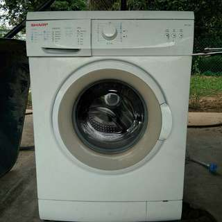 Sharp Front Loading Washing Machine (7kg)