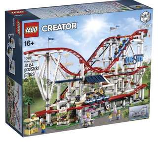 Lego Creator Roller Coaster with Power Functions Combo Set 10261