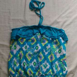 Blue Beach Top by Justice