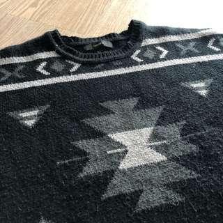 💛💚 forever 21 oversize jumper
