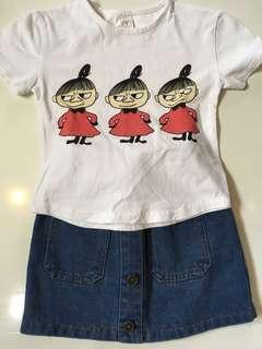 🚚 二手三歲小女童套裝尺寸七
