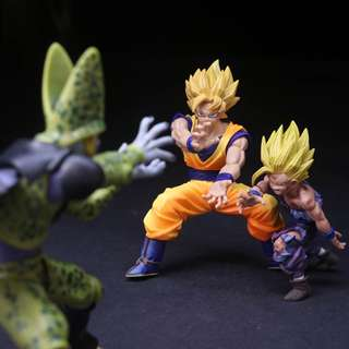 Dragon Ball Cell Children's Fashion Animation Action Toys