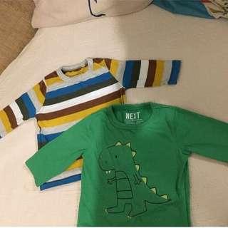 NEXT Baby Boy Shirt top 3-6m