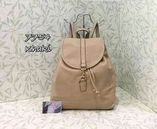 Coach Backpack Khaki Color