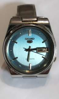 SEIKO 5 Automatic Watch Bezel 37mm 21 jewels