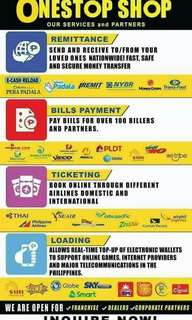 FRANCHISE YOUR OWN BAYAD CENTER, AIRLINE TICKETING, CEBUANA, WESTERN UNION