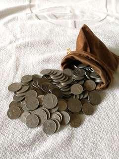 Koleksi Duit Syiling Malaysia Lama / Old Malaysian Coins