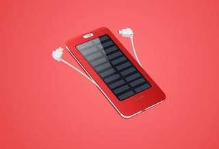 太陽能外置充電器 apple & android 機