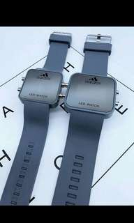 Led Couple Watch