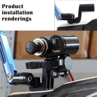 Rearview Mirror Extension Mount Bracket Holder