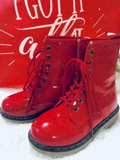 Link Red Combat Boots (FOR KIDS)
