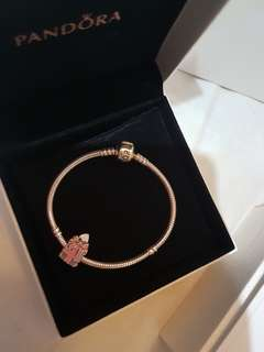100% Authenticity Guaranteed New Pandora Set Collier Charm Bracelet