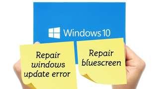 Repair windows error /bluescreen