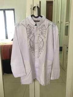 NEW Baju Koko - Putih