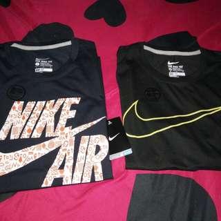 Nike shirts...